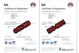 Quality Management ISO-9001 and OHS